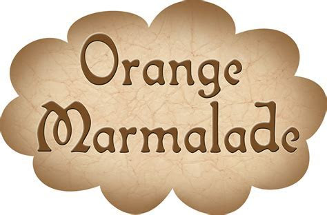 Pantry Label: Orange Marmalade   Rooftop Post Printables