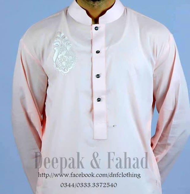 Mens-Boy-New-Summer-Eid-Dress-Kurta-Kamiz-Salwar-Pajama-2013-by-Deepak-Fahad-1