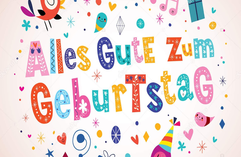 Verjaardag Duits Verjaardag