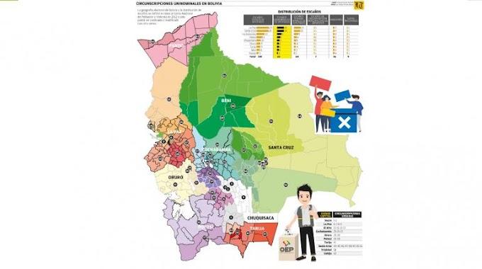 Bolivia: El 70% de los electores son urbanos, pero sólo eligen 50% de los escaños
