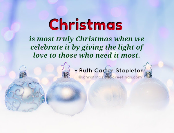 Inspirational Christmas Quotes With Beautiful Images Christmas Celebration All About Christmas