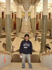Dalam Parliament House, Canberra, Australia