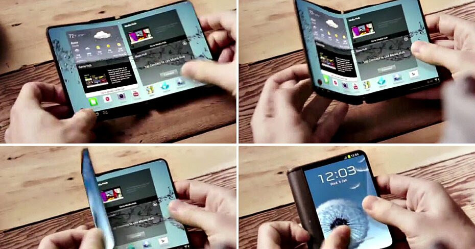 Image result for Samsung foldable phones