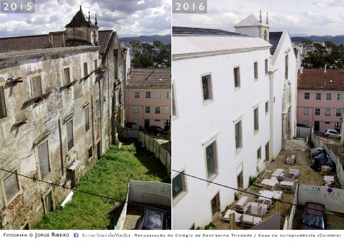 Recuperação do Colégio da Santíssima Trindade - Casa da Jurisprudência (Coimbra) 2015-2016