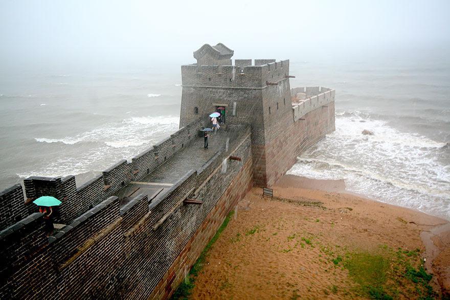 نهاية سور الصين