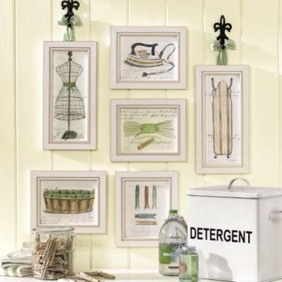 decorating ideas ballard designs laundry room prints