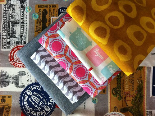 Lovely purchases from Bolt Fabric, Portland