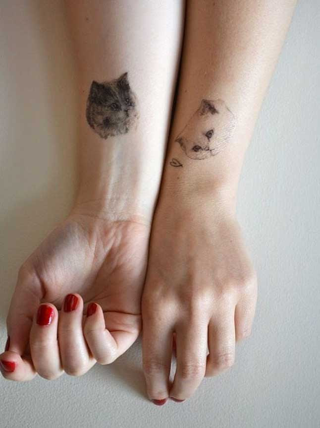 29 Tiernos Tatuajes Para Mejores Amigos Upsocl