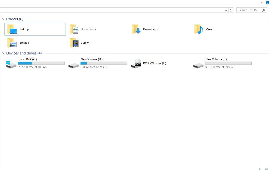 Windows drive