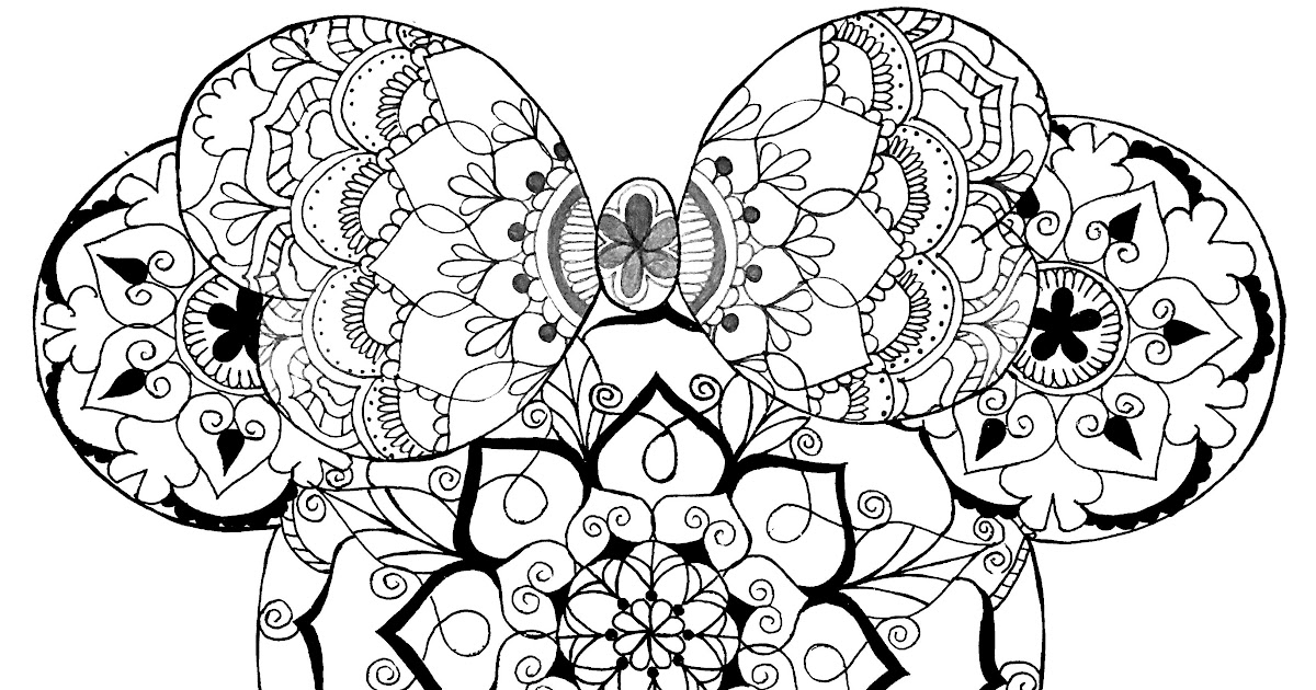 download disney coloring pages for adults background
