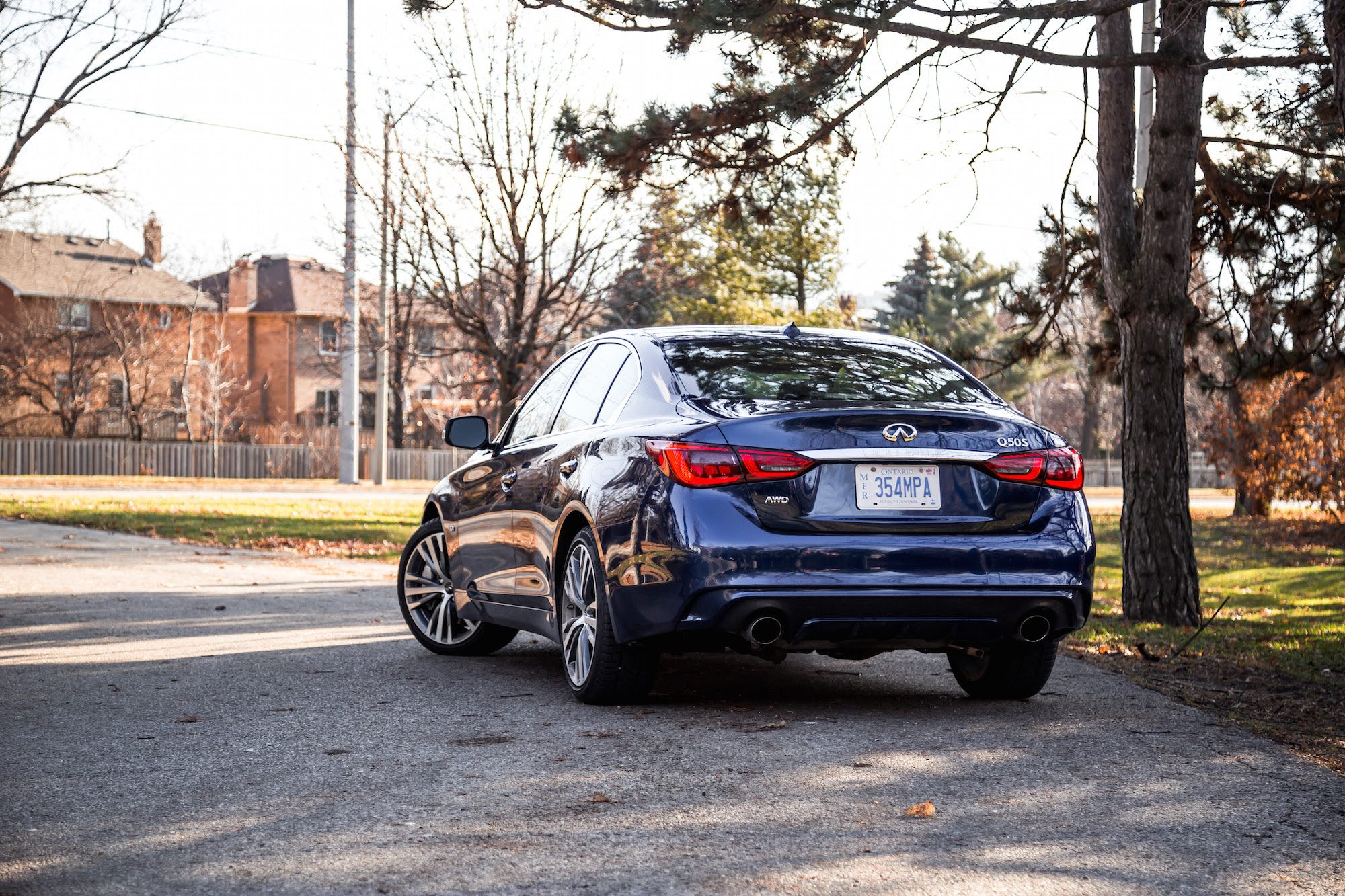 2018 Infiniti Qt Sport Awd Review Canadian Auto Review