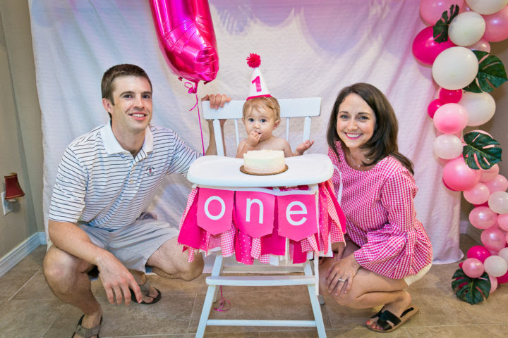 Annabelles Flamingo First Birthday Party Ideas Inspiration