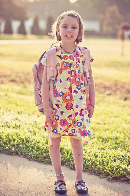 piper's last day of kindergarten