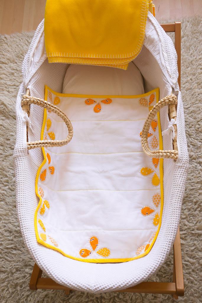 Pillowcase baby quilt