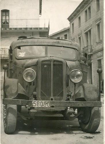 Camió de TRANSPORTS CARBONELL de Ribes de Fréser