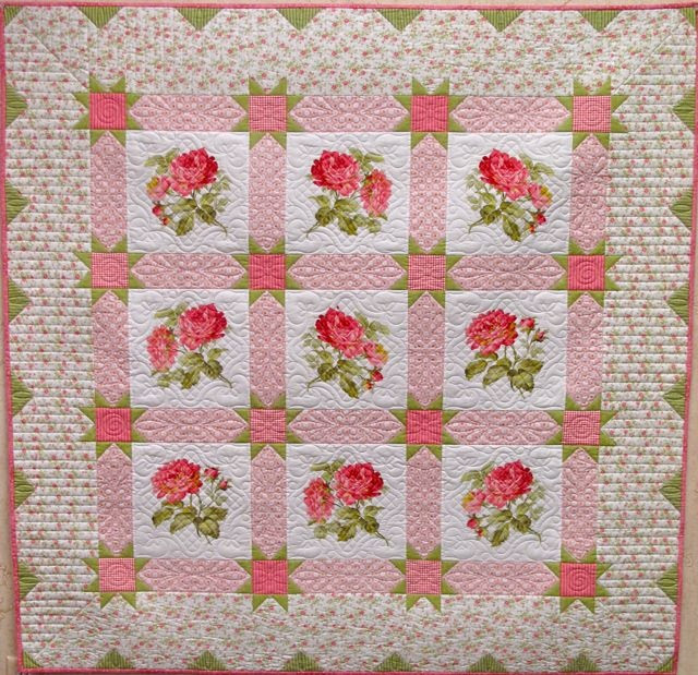 Fleur De Lis Quilts And Accessories Sunday Quilt Inspiration Roses