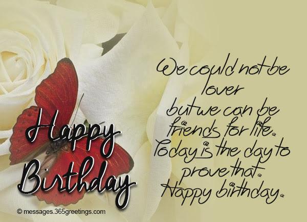 Birthday Wishes For Ex Boyfriend 365greetingscom
