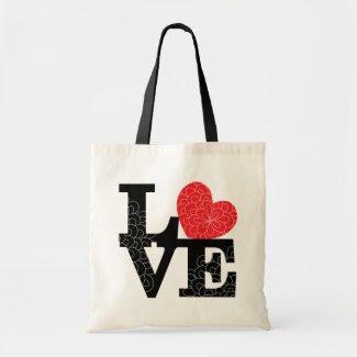 Love Squared Floral Imprint bag