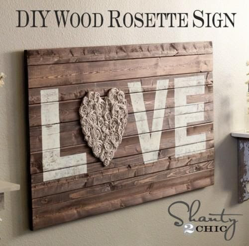 DIY Wall Art : DIY Wall Art LOVE
