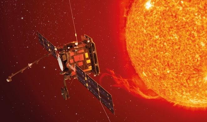 Аппарат Solar Orbiter смог приблизиться к Солнцу благодаря покрытию из размолотых костей