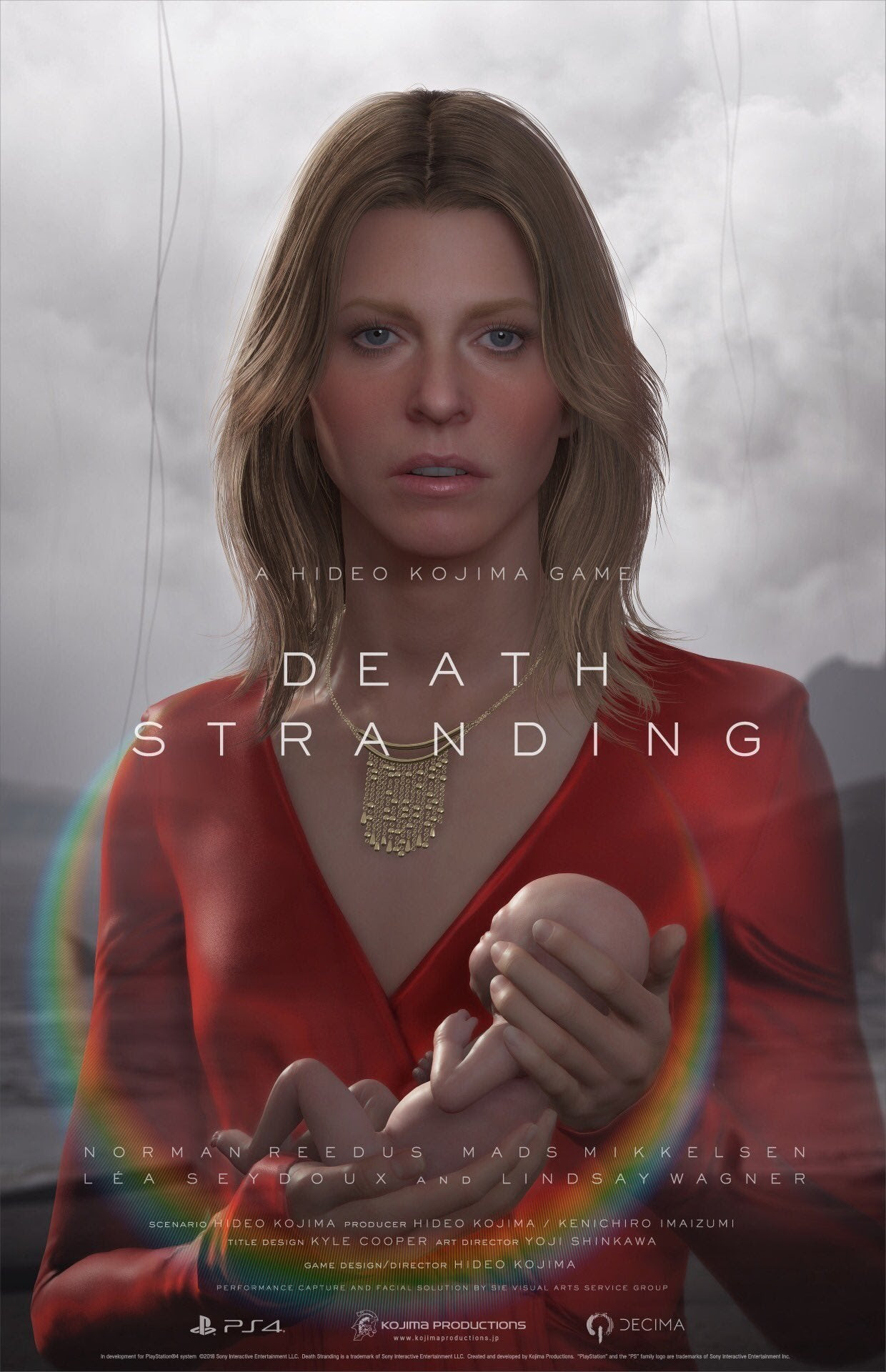 Image result for NEW DEATH STRANDING TRAILER SHOWS GAMEPLAY, REVEALS TWO NEW CAST MEMBERS