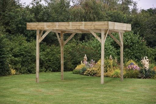 Medium Modern Wooden Garden Gazebo | Buy Online at Gazebo ...