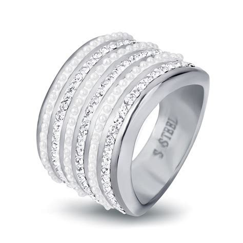 Top Quality Stainless steel Wedding Rings For Women 316L