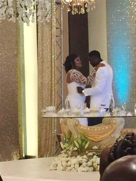 Photos of Nana Ama McBrown's marriage ceremony released