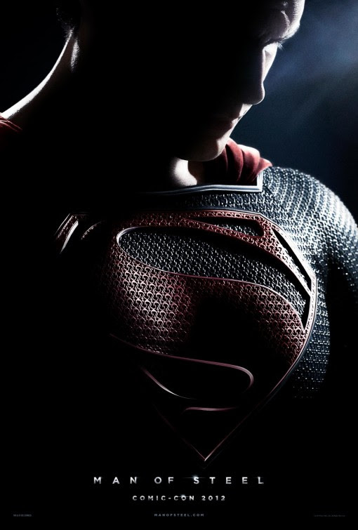 Image result for man of steel movie poster