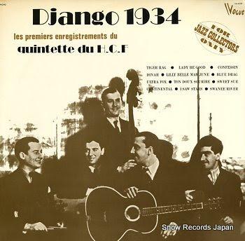 REINHARDT, DJANGO django 1934