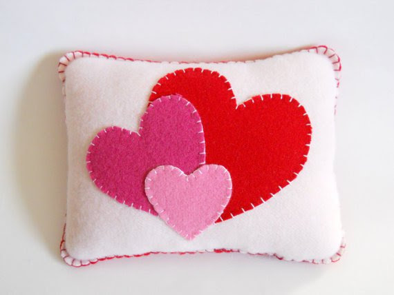 valentines day pillow from etsy the pineapple catz