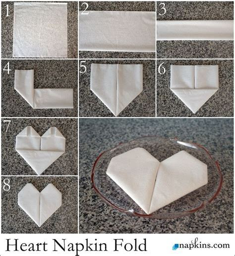 Best 25  Folding napkins ideas on Pinterest   Napkins