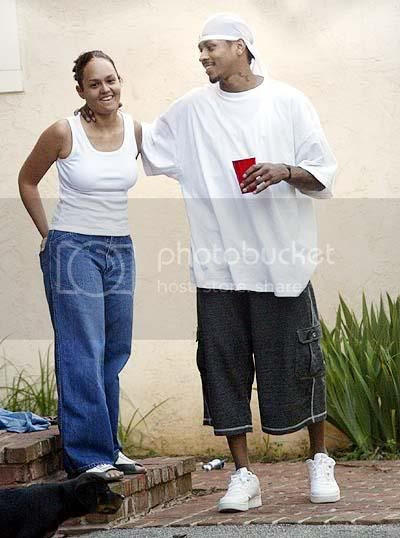 Tawanna and Allen Iverson