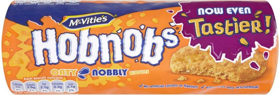 Homemade Hobnobs