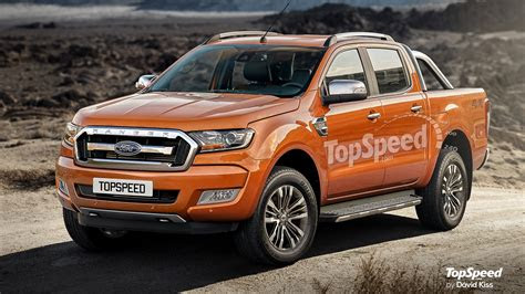 ford ranger review top speed
