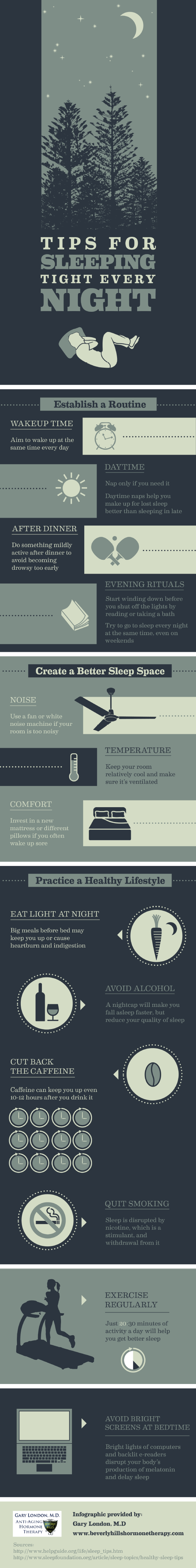 Infographic: Tips for Sleeping Tight Every Night [Infographic]