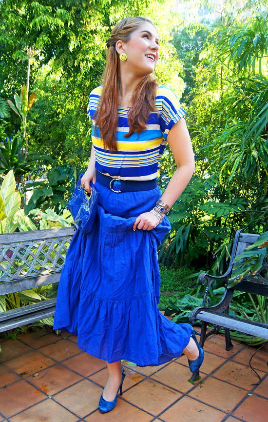 Blue & Yellow by The Joy of Fashion (8)