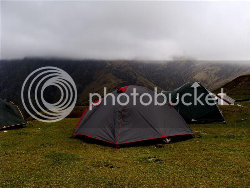 campsite at Bedni