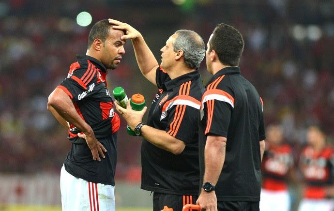 Alecsandro, Flamengo X América- RN (Foto: André Durão)