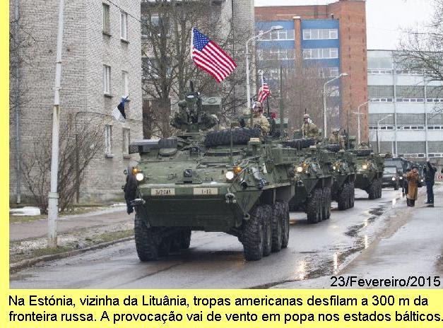 Provocação na Estónia.