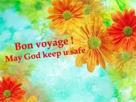 Wish A Safe Trip To Your Loved Ones. Free Bon Voyage