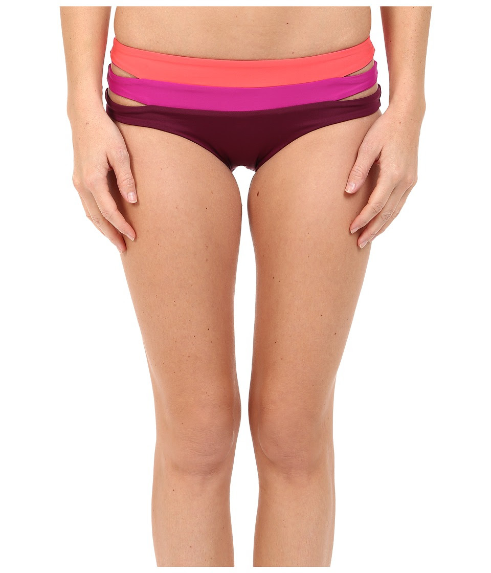 BECCA by Rebecca Virtue - Metropolis Hipster Bottom (Marsala) Women's Swimwear