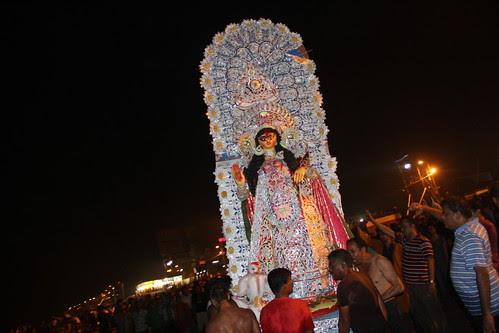 Durga Visarjan Juhu 2012 by firoze shakir photographerno1