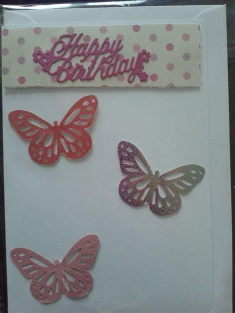 3d butterfly martha stewart Happy Birthday card   Caridubi