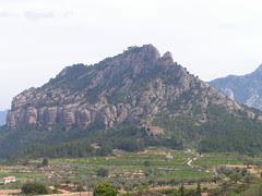 Horta de Sant Joan: Muntanya de Santa Bàrbara