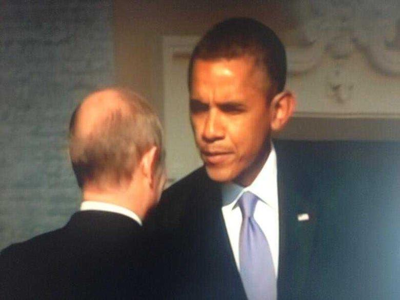 Obama Putin G20