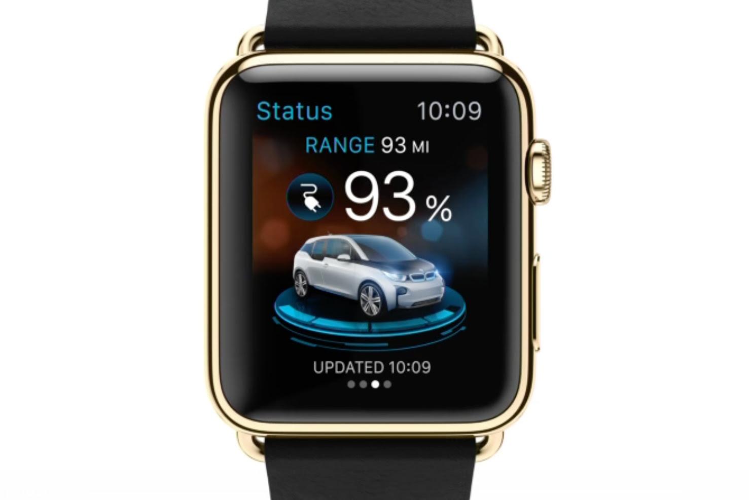 Apple Watch: BMW i App wird erste App eines Autobauers