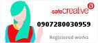 Safe Creative #0907280030959