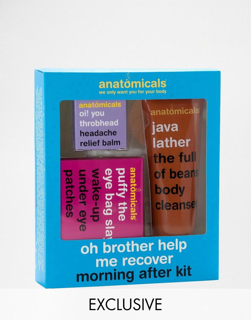 Imagen 1 de Set Oh Brother Help Me Recover The Morning After de Anatomicals