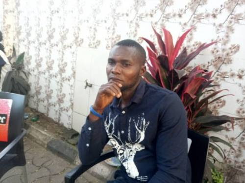 Lawrence Idoko was stabbed to death by his wife in August 2017